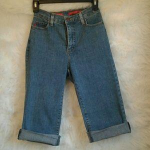 NYDJ Tummy Tuck Jean Shorts